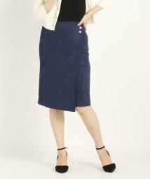 STRAWBERRY FIELDS/DVスエードボンディングスカート/501222274