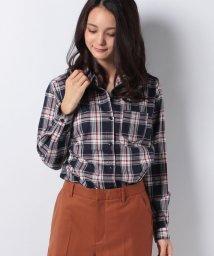 INGNI/チェック柄BIGシャツ/501244188