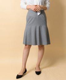 TONAL/ウォッシャブルウールマーメイドスカート/501250143