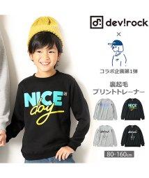 devirock/コラボ企画第1弾 裏起毛プリントトレーナー/501255912