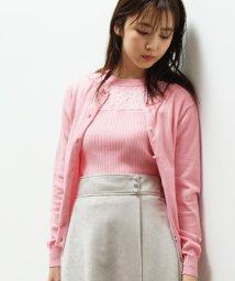 ViS/【WEB限定カラー】レースヨーク切替ニットアンサンブル/501256850