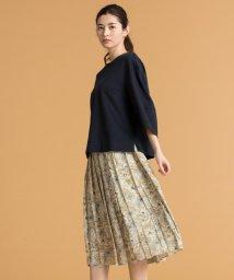 JIYU-KU /【マガジン掲載】ペイズリープリント プリーツスカート(検索番号Q33)/501257163
