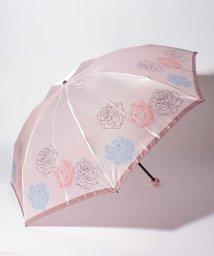 LANVIN Collection(umbrella)/ランバンコレクションサテンプリントローズ柄ミニ傘/LC0001111
