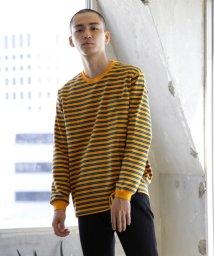 BEAMS MEN/BEAMS / ボーダー ポケット Tシャツ/501091748