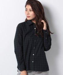 OLD ENGLAND/WEB限定【OEPP】ブラックウォッチレギュラーカラーシャツ/501141933