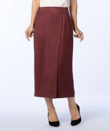 NOLLEY'S/スエード風ラップスカート/501249035