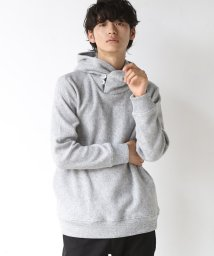 coen/【WEB限定】フリースボリュームネックパーカー/501258935