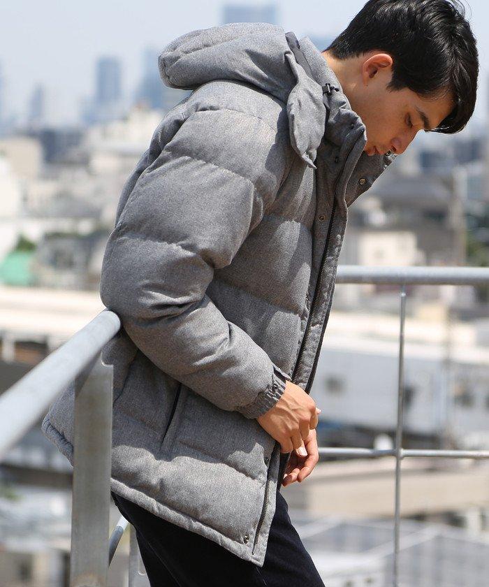 Cloud−Xフーデッドジャケット