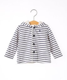 SHIPS KIDS/SHIPS KIDS:ベビー フード ポンポン コート(80~90cm)/501259502