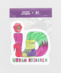 URBAN RESEARCH/masami yanagida×URiD (the C) ロゴシール/501260152
