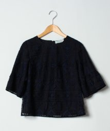 NEMIKAoriginal/【セットアップ対応商品】チュール刺繍ブラウス/501193120