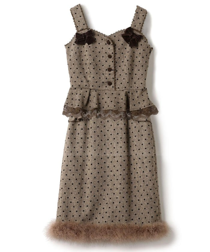 Bunny Ribbonセットアップ / mille fille closet