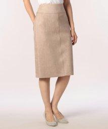 fredy emue/ストレッチフェイクスエードタイトスカート/501249001