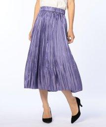 NOLLEY'S sophi/グロッシーランダムプリーツスカート/501249014