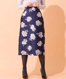 en recre/【BE NEAT】光沢タイトスカート/501251201