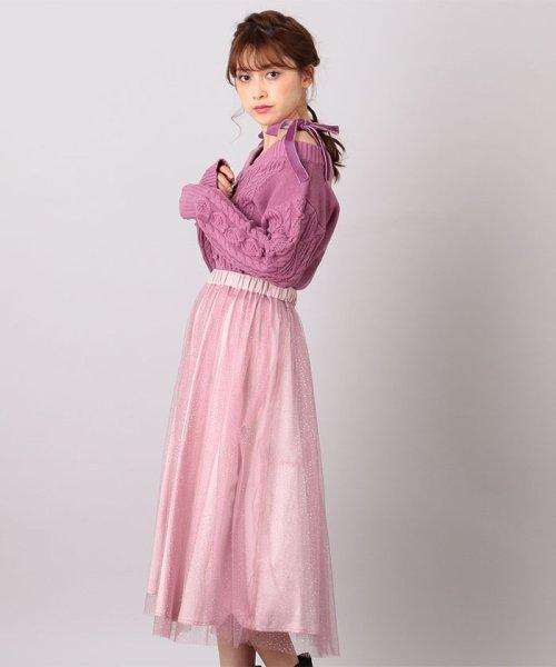 MIIA(ミーア)/ラメチュールスカート/32832416