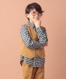 branshes/【キメ服】チェック/ツイルベスト/501255710