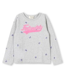 RADCHAP/フロッキーロゴ花柄長袖Tシャツ/501255770