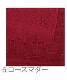 BACKYARD/CM-1004 コットンマフラー ブックBOXタイプ/501259362