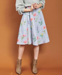 31 Sons de mode/【andGIRL11月号掲載】ボタニカル花柄フレアスカート/501259689