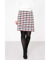 PROPORTION BODY DRESSING/【CanCam 12月号掲載】カラーチェック台形スカート/501260523