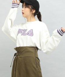 ViS/【FILA×ViS】裏毛ロゴショートプルオーバー/501262627