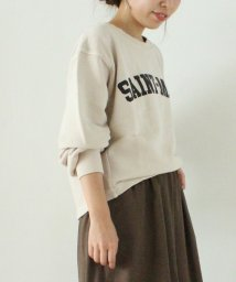 le.coeur blanc/プリント裏毛プルオーバー/501126206