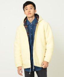 BEAMS MEN/Lee × BEAMS / 別注 Boa Hood Jacket/501175932