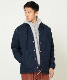BEAMS MEN/Lee × BEAMS / 別注 Batting Denim Coach jacket/501175933