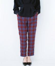 haco!/着るだけでこなれた雰囲気になる オトナチェックパンツ byMAKORI/501192918