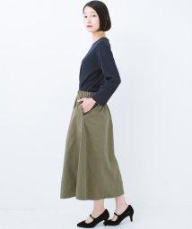 haco!/コーデいらずの異素材ドッキングワンピース/501252646