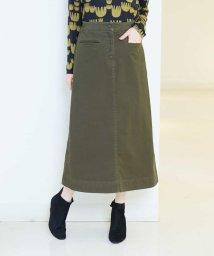 GIANNI LO GIUDICE/【後ろゴム】ストレッチツイルスカート/501264152