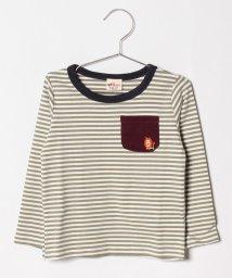 A-MACH/刺繍ライオンTシャツ/501246966