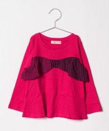 FORTYONE/リボン切替Tシャツ/501246969