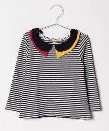 FORTYONE/ボーダー衿Tシャツ/501246986
