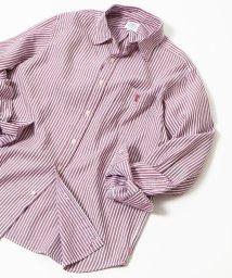 coen/オックスフォードドビーストライプレギュラーカラーシャツ/501249551