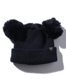 petit main/ダブルポンポンつきニット帽/501252803