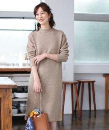 ROPE'/【MAGASEEK/d fashion限定】エアーヤーンニットワンピース/501255086