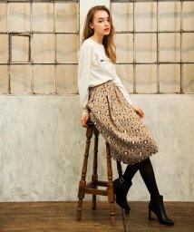 Noela/【美人百花1月号掲載】レオパードJQボリュームスカート/501265880