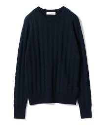 BEAMS OUTLET/Demi-Luxe BEAMS / チェーンケーブル クルーネックニット/501180878