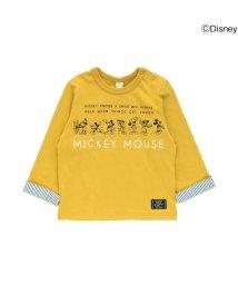 apres les cours/ディズニーミッキー90th長袖Tシャツ/501217671