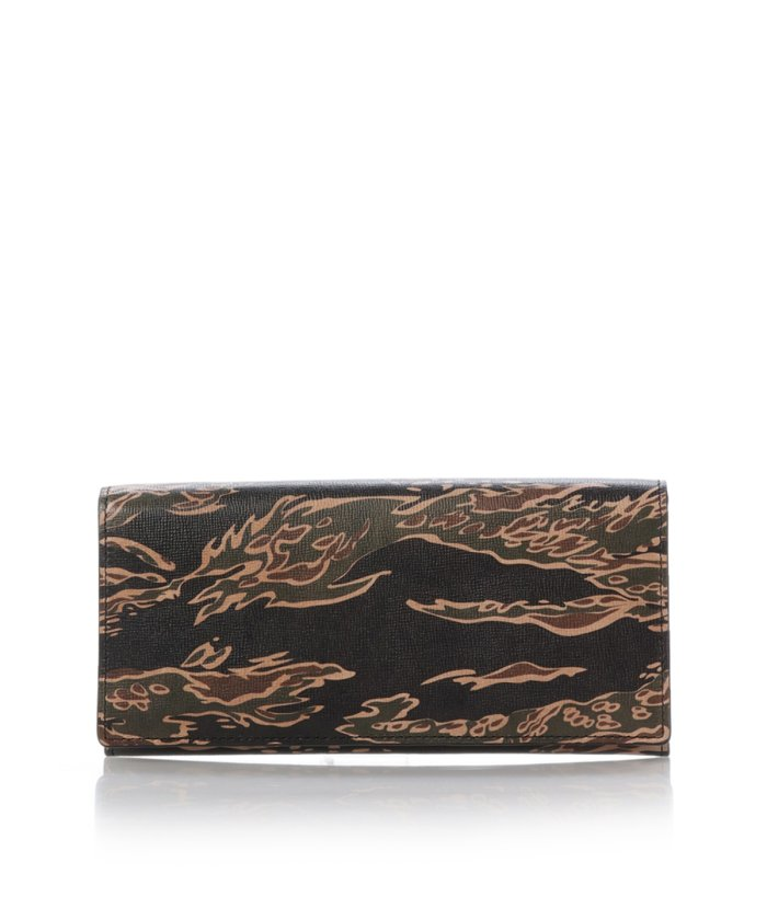 タイガーカモフラ柄 長財布
