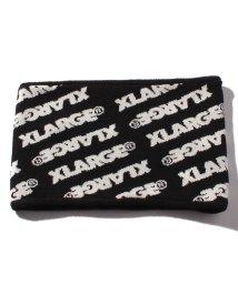 XLARGE KIDS/ロゴ総柄ジャカードニットネックウォーマー/501260768