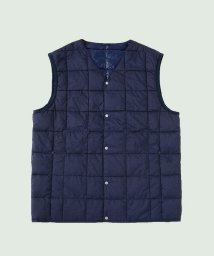 TAION/V NECK BUTTON DOWN VEST/501262373