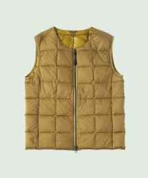 TAION/CREW NECK ZIP VEST/501262374
