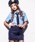 Dita/costume【コスチューム】ハロウィン コスプレ ポリス(警察官) セクシー 5点セット/501269954