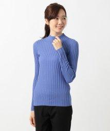 iCB/【シルク&カシミヤ混】Wool Silk Cashmere リブニット/501270043