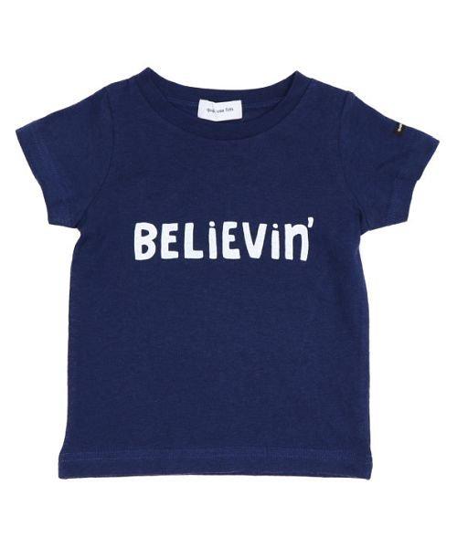16/− テンジク believin' S/S Tシャツ