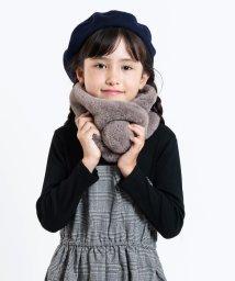 SHIPS KIDS/SHIPS KIDS:エコファー マフラー【WEB限定色ピンク】/501270214