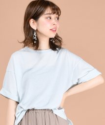 NICE CLAUP OUTLET/【natural couture】ゆるビックTシャツ/501247211